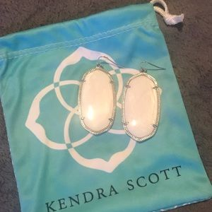 Kendra Scott Danielle White Earrings